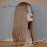 Peruca européia loura de venda quente da qualidade da forma do estilo do cabelo superior de Remy da classe