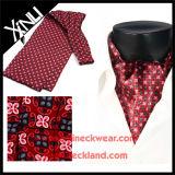 Mens-hohe Form-Seide gedruckte Krawatte-Krawatte