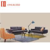 Sofá del Recliner de Loveseat del cuero genuino fijado para los muebles de la sala de estar