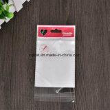 Полиэтиленовый пакет Customzied прозрачный напечатанный OPP Self-Adhesive с коллектором