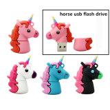 El flash del USB del unicornio conduce el mecanismo impulsor verdadero de la pluma del caballo de la capacidad