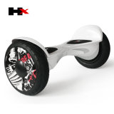 La UL 2272 del fabricante de Hx aprobó 10.5 a uno mismo elegante de la rueda de la pulgada 2 que balanceaba Hoverboard con la batería de Bluetooth Samsung