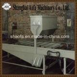 石造りの上塗を施してある鋼鉄屋根瓦の生産ライン(AF)