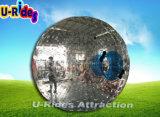 Bola inflable grande de Zorb para el parque del agua