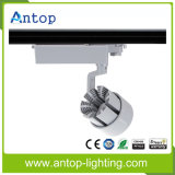 2/3/4 Wires COB LED Track Spot Light com 15/24/40 Ângulo de feixe