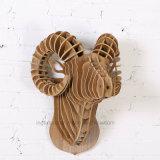 Fabricantes que vendem a cabeça de madeira Home creativa do Argal dos ofícios