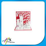 Visualizzazione di legno acrilica calda del blocco per grafici di Oaptical dei monili per la mostra