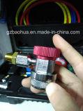 Instrument de mesure de gaz de liquide refroidisseur (huile de silicone), type favorable à l'environnement