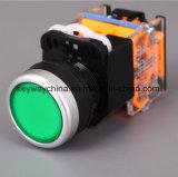 Dia22mm-La118mbn 누름단추식 전쟁 스위치, 빨강, 녹색, 황색, 파랑, 백색 색깔, 6-380V 전압