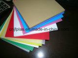Folha plástica ondulada dos PP com borda selada para a embalagem