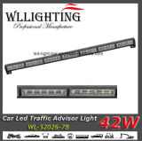 Indicatore luminoso d'avvertimento infiammante della freccia del Consigliere 42 W LED di traffico di camion