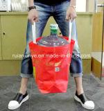 Voller automatischer nichtgewebter lamelliertes Plastikkasten-Beutel, der Maschine herstellt