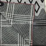 Tessuto delle lane dell'assegno del Gird dello Swallow & del Rhombus