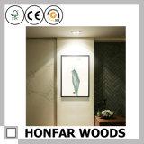 Cornice di legno di stampa della tela di canapa per la decorazione di arte della parete