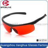 Nuevos productos calientes para 2016 anteojos a prueba de polvo industriales de encargo del corte de la cebolla de la protección de ojo de la gafa de seguridad del verano