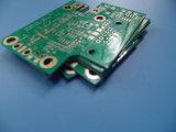 4 PWB RO4003c e Fr-4 da camada em amplificador equilibrado