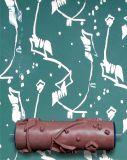 벽 훈장 패턴 페인트 롤러를 위한 돋을새김된 벽지 공구