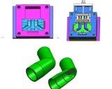 Пластичная прессформа для частей материала PVC