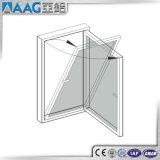 El marco de aluminio de la doble vidriera Inclinar-Da vuelta a la ventana para la comunidad de lujo de la residencia