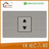 Interruptor elétrico de sentido único/em dois sentidos de um grupo da parede