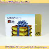 Gold Printing PVC magneetstrip Card voor Gift Card