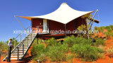 Il vento impermeabile resiste alle grandi tende della baracca della tenda