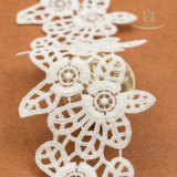 새로운 디자인 나일론 의복 부속품 레이스 직물 폴리에스테 레이스