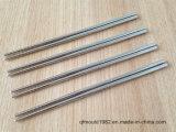 Bacchette dell'argento dell'acciaio inossidabile di alta qualità di Buik Resuable con la banda