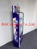 3 Reihe-Metallregal-Ausstellungsstand für Reinigungs-Produkt-Förderung