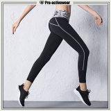 カスタムカラーのOEMの女性のヨガの摩耗のSportwearのヨガのズボン