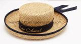 Chapéu barato e elegante de /Summer da palha do chapéu da senhora palha (DH-LH91112)