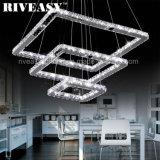 LED-moderner Kristallleuchter-hängende Lampe