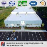 Bâtiment de cadre en acier léger pour usage de bureau