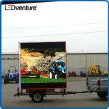 상업 광고를 위한 풀 컬러 큰 LED 영상 벽, 방수 내각, 높은 광도