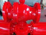 Pn63 le bâti pneumatique Wcb rf a bridé robinet à tournant sphérique monté par tourillon