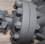 300lb industrial válvula de porta da flange de 4 polegadas