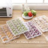 Camada Única Coberta com Caixa de Dumplings de Plástico