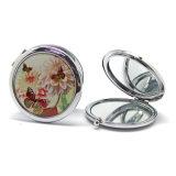 Specchio alla moda all'ingrosso Hx-7610 del compatto del metallo del ricordo