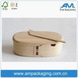 Rectángulo de almuerzo de madera de encargo Heated de la India de la alta calidad con el bloqueo