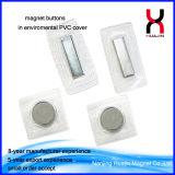 teclas magnéticas permanentes fortes de 20mm para vestuários do inverno/roupa de couro