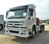 A carga resistente dos caminhões de descarga de China HOWO transporta caminhões do trator