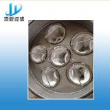 Filtro mecánico de la bola de la fibra de la turbulencia de la eficacia alta para el retiro de la grasa/del petróleo