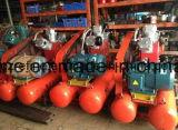 채석장 W-2.6/5D를 위한 Kaishan 15kw 5bar 전동기 3 실린더 공기 압축기