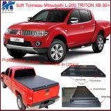 3 Jahr-Garantie-faltende Aufnahmen-Bett-Deckel für doppeltes Fahrerhaus Mitsubishi-L-200 Triton