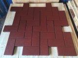 Напольная резиновый резина гимнастики плитки кроет квадратную резиновый плитку черепицей Colorful Rubber Paver