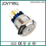 Pulsador eléctrico del blanco del metal del Ce LED de la alta calidad