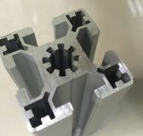 Profil en aluminium industriel d'extrusion de 40120 séries, crémaillère en aluminium de bâti d'extrusion