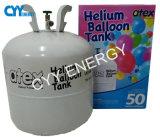 Cilindro inferior del globo del gas de Pressurehelium de la pureza elevada para el partido