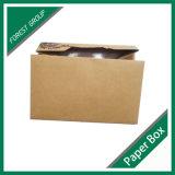 [فوود غرد] [بروون] [كرفت ببر] طبق أرز ياباني صندوق مع نافذة واضحة
