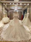 新しい到着2017の標準的なウェディングドレスの上の販売の結婚